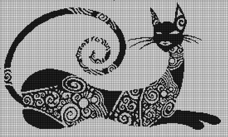 Нравится Поделиться. кошка.  Понравилось.  Процитировано. вышивка крестом. вышивка/крестом. в цитатник.