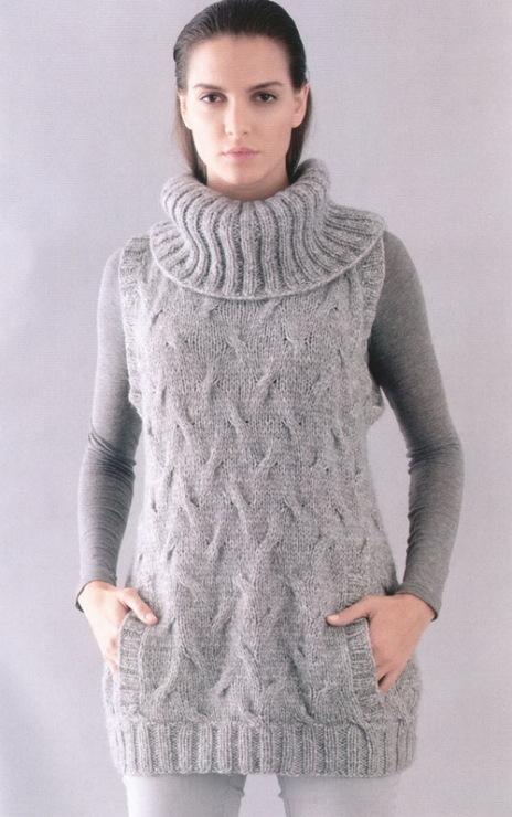 16 окт 2013 Записи с меткой вязание спицами/жилет/женские модели. (и еще 23 записям