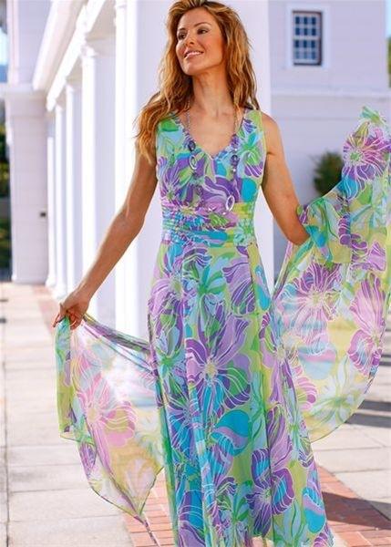 фасоны платьев лето
