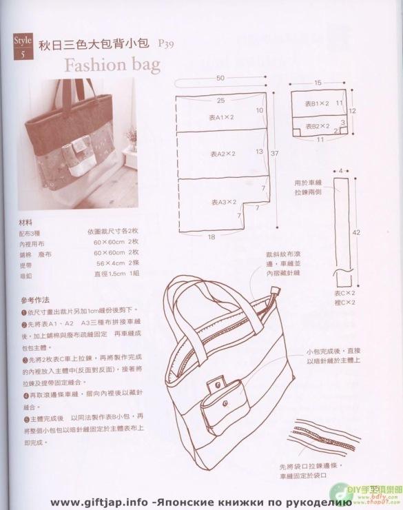 Описание: admin. сумка, выкройка сумки, выкройки скачать, выкройки бесплатно, шитье, сумка своими руками