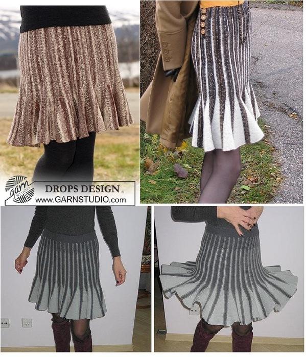 开心果喜欢的编织喇叭裙 - qyp.688 - 邱艳萍手工博客