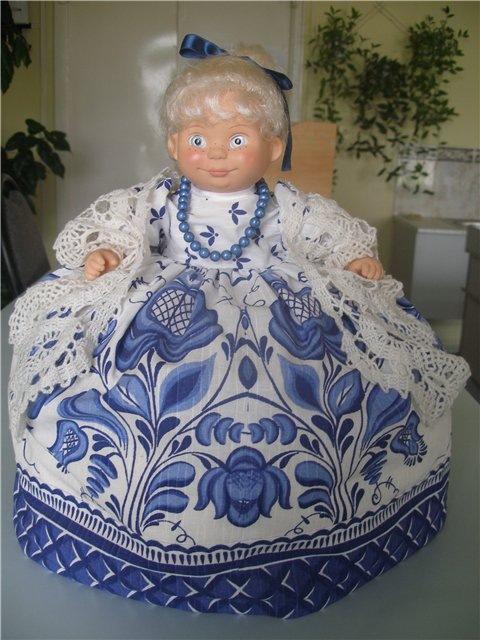 Куклы на чайник своими руками