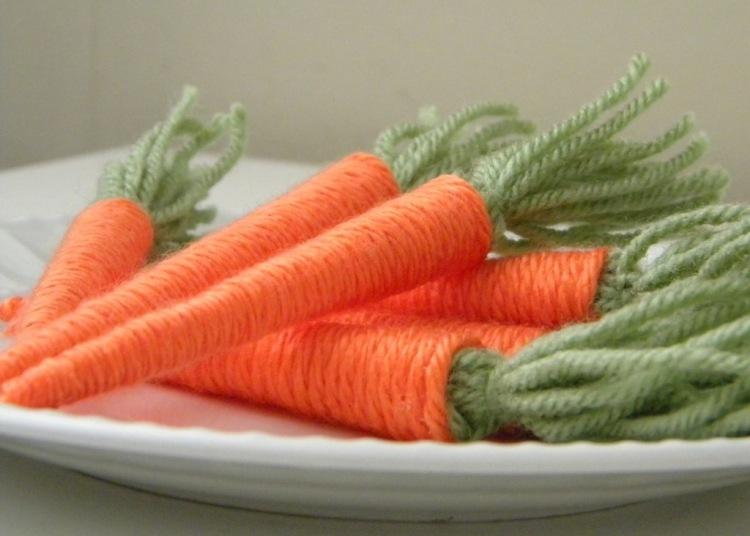 Как сделать морковку своими руками фото
