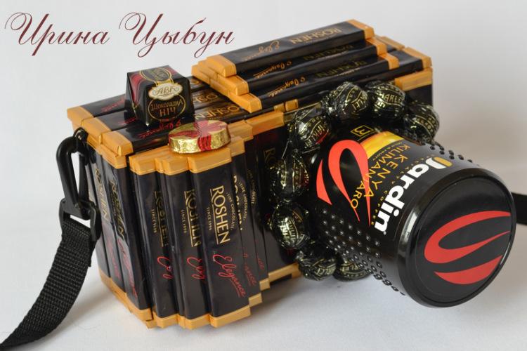 Оригинальные подарки из шоколадок своими руками