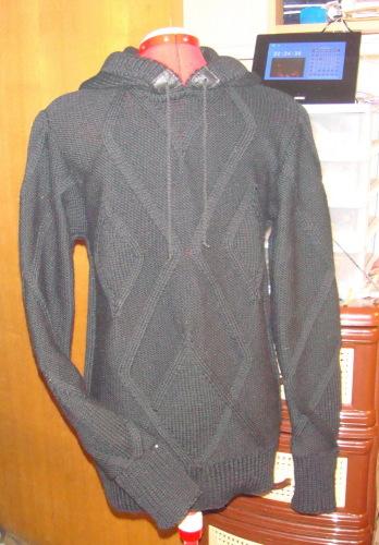 мужские свитера с косами связанные спицами.