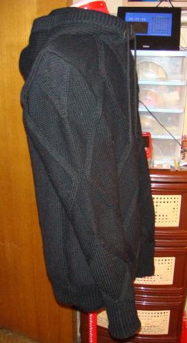Спинка и перед Резинка 1Х1 спицами 3 104 петли высотой 10 см Спинка...
