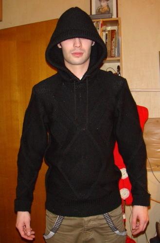 вязанные мужские свитера спицами.