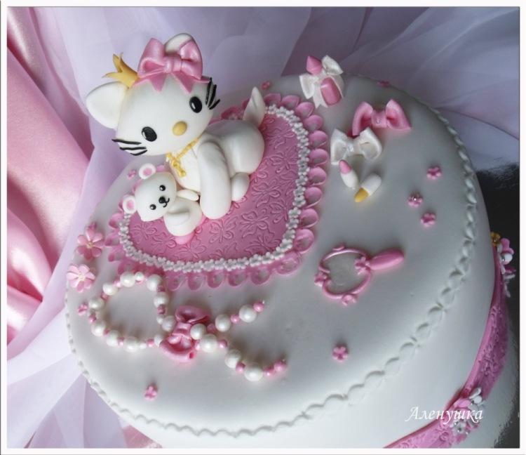 Торт на два годика девочке фото