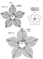 Вязание крючком. вязание двухслойного цветка Подписывайтесь на новые lutik-вязание крючком и спицами.
