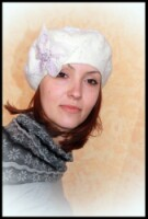 Gallery.ru / Фото #24 - Валяние берета - vintage-bazar.