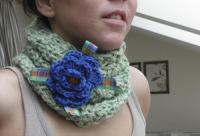 снуд шарф - Фото автора Ni.