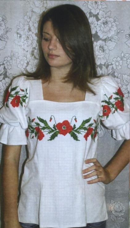 Блузка Вышитая