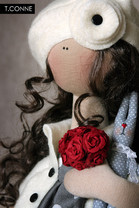 Кукла Сандрин - T.Conne.