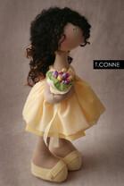 Познакомьтесь с чудесными мягкими игрушками Татьяны Коннэ очень милыми и дружелюбными. .  Ее игрушки само очарование...
