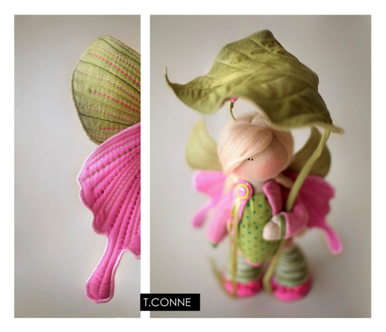 Авторская кукла Татьяны Коннэ: Summer butterfly фото.