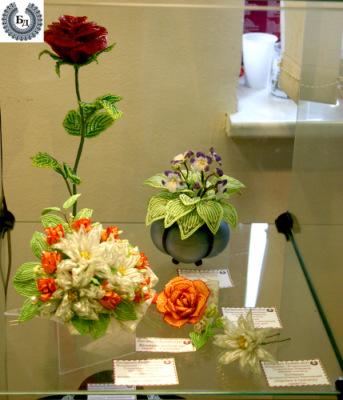 цветочные композиции алены башкатовой - Город бисера.